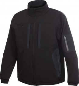 4415 KURTKA SOFTSHELL BLACK - 99 XXL