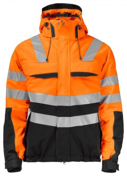 6414 OCIEPLANA KURTKA EN ISO 20471 ORANGE - 1799 3XL