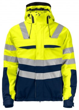 6414 OCIEPLANA KURTKA EN ISO 20471 YELLOW/NAVY - 10 4XL