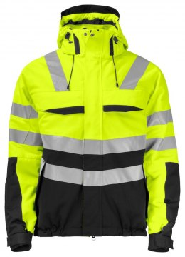 6414 OCIEPLANA KURTKA EN ISO 20471 YELLOW/BLACK - 11 4XL