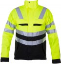 6415 KURTKA EN ISO 20471 YELLOW/BLACK - 11 XL