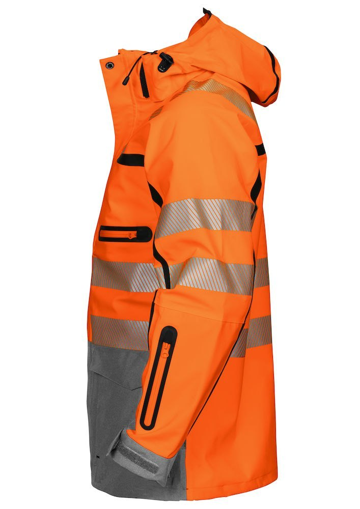 6417 KURTKA ISO 20471 KLASA 3 PROJOB ORANGE - 17 3XL