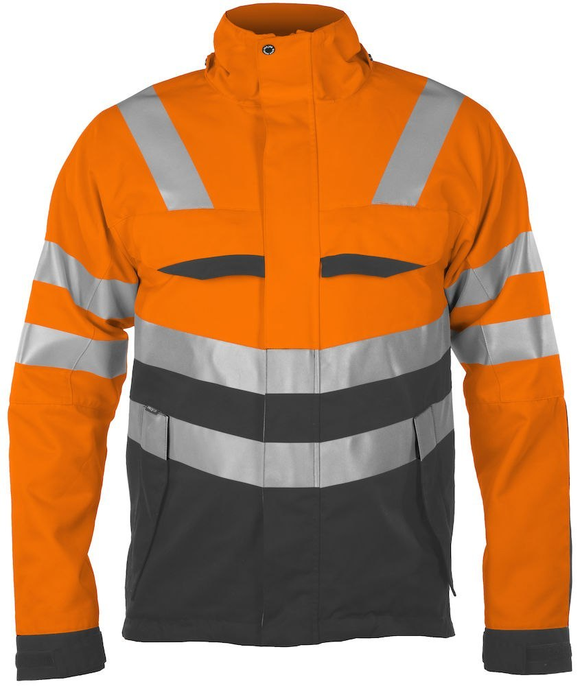 6422 KURTKA EN ISO 20471 PROJOB ORANGE - 17 4XL