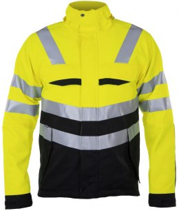 6422 KURTKA EN ISO 20471 YELLOW/BLACK - 11 4XL