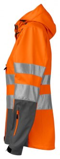 6423 SOFTSHELL HV DAMSKI PROJOB ORANGE - 17 XXL