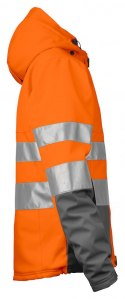 6424 SOFTSHELL HV EN ISO 20471 KLASA 3/2 PROJOB ORANGE - 17 L