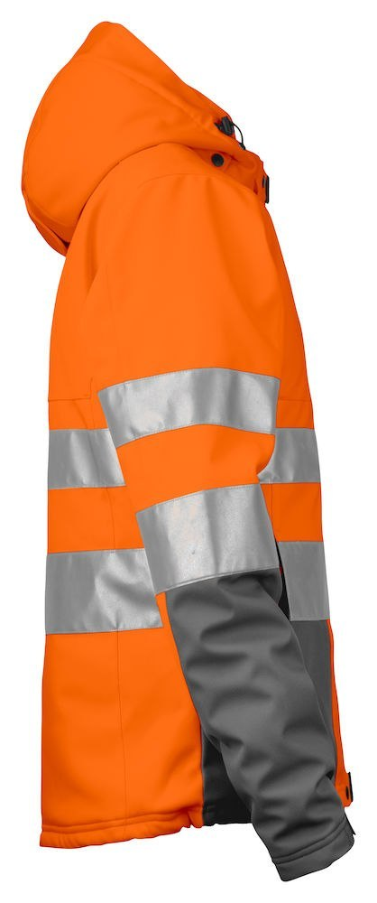6424 SOFTSHELL HV EN ISO 20471 KLASA 3/2 PROJOB ORANGE - 17 M