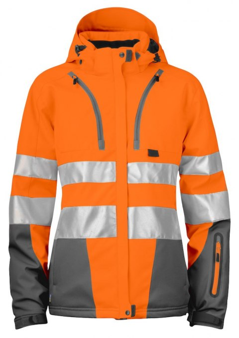 6424 SOFTSHELL HV EN ISO 20471 KLASA 3/2 PROJOB ORANGE - 17 S