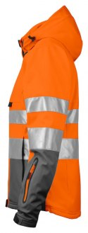 6424 SOFTSHELL HV EN ISO 20471 KLASA 3/2 PROJOB ORANGE - 17 XL