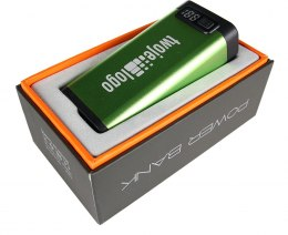 Power Bank 4400mAh kolor Jasnozielony