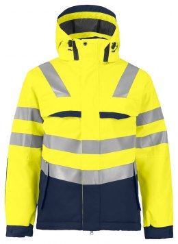 6422 KURTKA EN ISO 20471 YELLOW/NAVY - 10 L