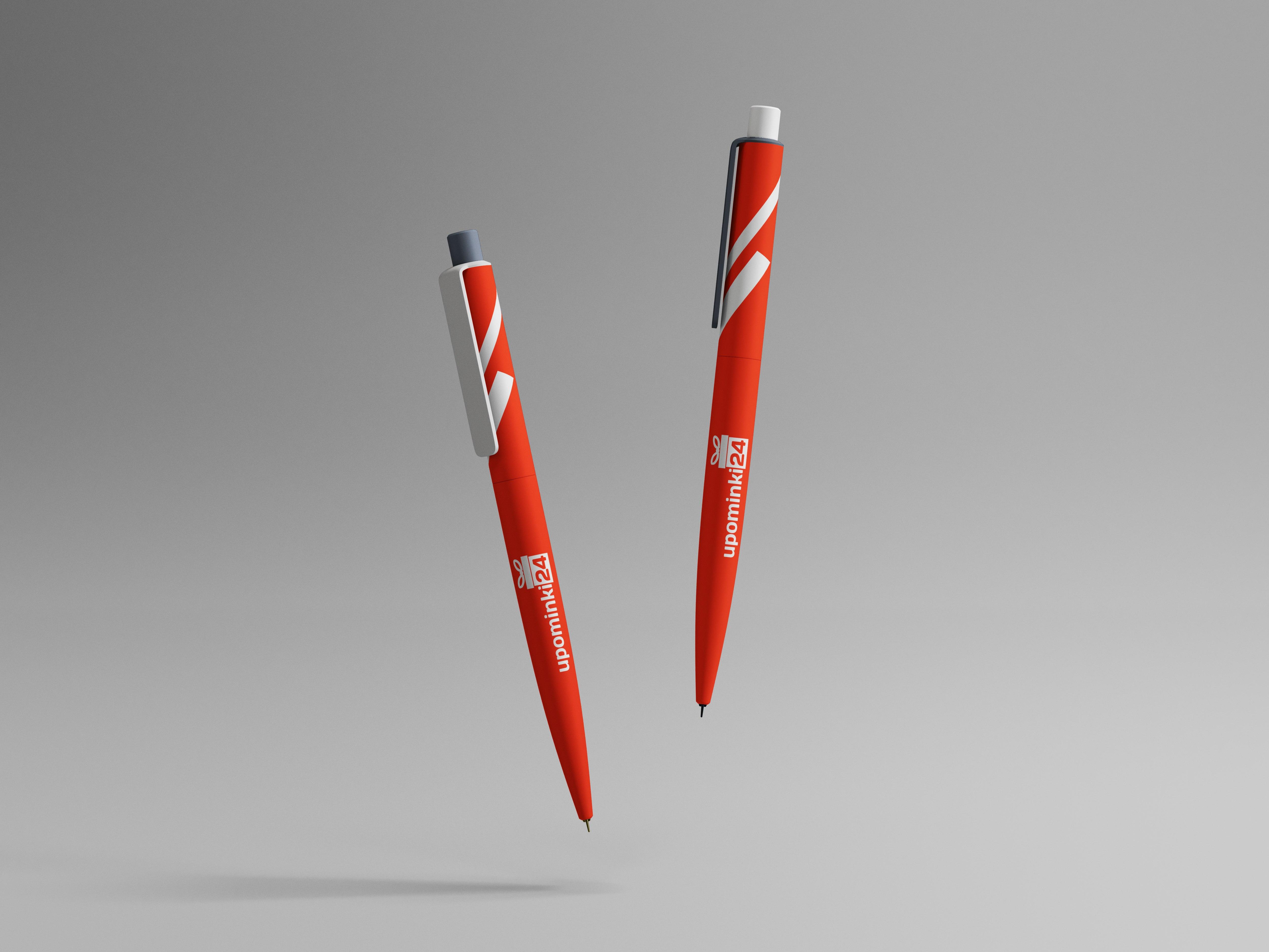 długopisy z logiem